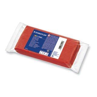 Spielknete Plastilin, rot 1 kg