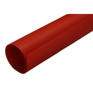 Transparentpapier rot, Rolle 50,5 x 70 cm extra stark 115 g/qm