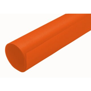 Transparentpapier orange, Rolle 50,5 x 70 cm extra stark 115 g/qm