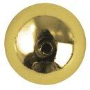 Plastik-Rundperlen, 8 mm ø, Dose 26 Stück, gold