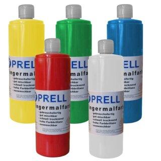 5er Set: Fingermalfarben,750ml