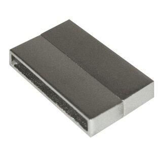 Magnetschließe glatt 2-teilig