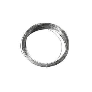 Silberdraht mit Kupferkern, 0,30 mm ø, SB-Btl. 25 m