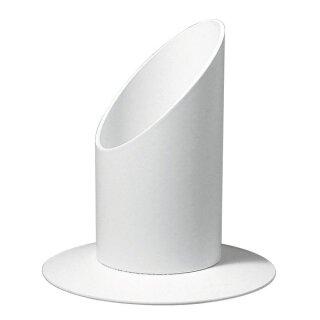 Kerzenhalter, 40 mm ø, für Tauf- und Kommunionkerzen, weiß