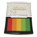 Stempelkissen Versacolor, 5 Farben, Stempelfläche...