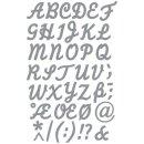 Klebeschrift A-Z+Zeichen