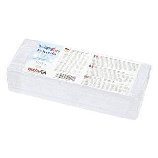 Rohseife, Glycerin Seife, transparent 1000 g, inkl. Anleitung