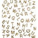 Wachsbuchstaben -V-
