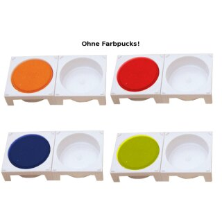 Malpalette weiß, D:55 mm 8er-Set