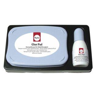 Glue-Pad, säurefrei, mit 15 ml Glue-Nachfüllfläschchen
