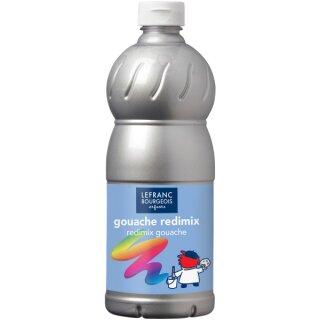 Schultempera Farbe C + C Redimix,1000 ml, silber von ColArt