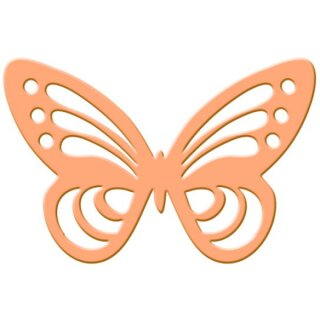 Silhouettenstanzer Schmetterling, 44 x 32 mm