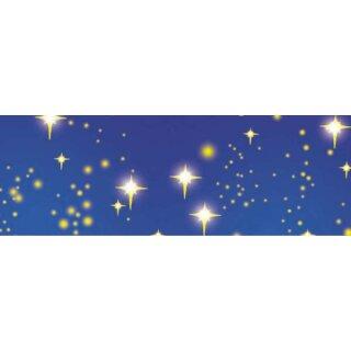 Transparentpapier Sternenhimmel, 50 x 61 cm 1 Rolle