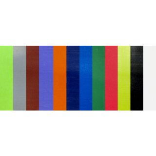 Standard Verzierwachsplatte 10 x 20 cm 12 Platten farbig sort.