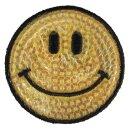 Patch Smile, 5cm ø, zum Aufbügeln, SB-Btl....
