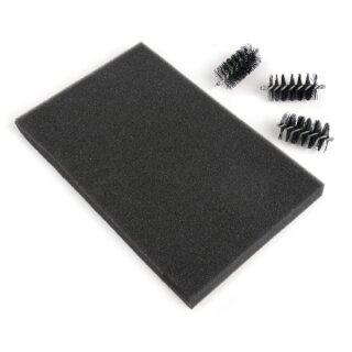 Sizzix Ersatz Brush Rollers&Foam Pad, für Wafer-Thin Schablonen, SB-Blister
