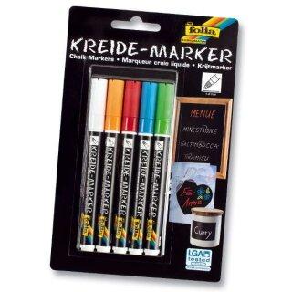 Kreidemarker Fresh Colours 5er Set