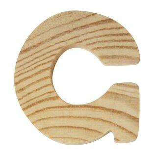 Holzbuchstaben, 5x1cm, G