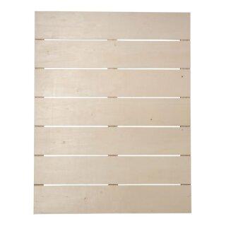Holz-Lattenrahmen, FSC Mix Credit, 40x50,2x0,7cm, Tiefe 1,1cm,+2 Haken