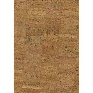 Korkstoff Natur gerollt, 45x30cm, 0,8 mm Stärke, Box 1Rolle