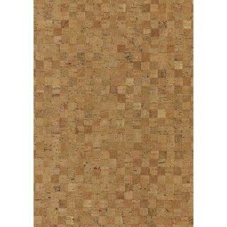 Korkstoff Mosaik gerollt, 45x30cm, 0,8 mm Stärke, Box 1Rolle