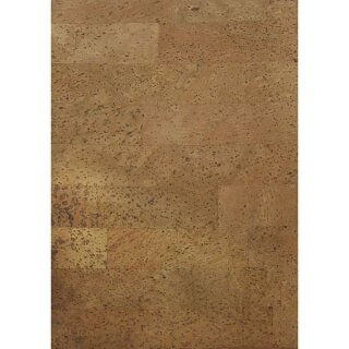 Kork-Papier: Natur, selbstklebend, 20,5x28cm, SB-Btl 1Bogen