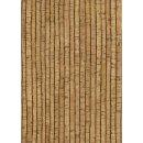 Korkstoff Streifen, 135x50cm, 0,8 mm Stärke