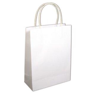 Papier-Tasche mit Henkel, FSC 100%