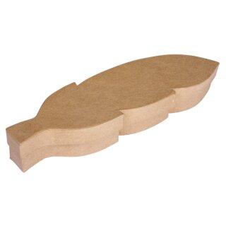Pappm.Box Feder, FSC Recycled 100%, 28x8x4cm