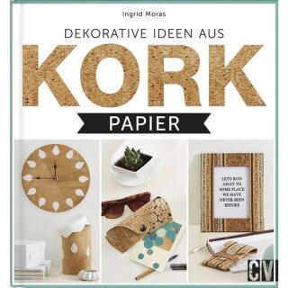 Buch: Dekorative Ideen aus Kork, Hardcover, nur in deutscher Sprache