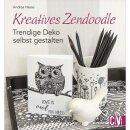 Buch: Kreatives Zendoodle, nur in deutscher Sprache
