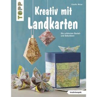Buch: Kreativ mit Landkarten, nur in deutscher Sprache