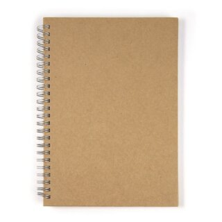 Notizbuch, Hochformat, DIN A5, 60 Blatt, 70 g/m2