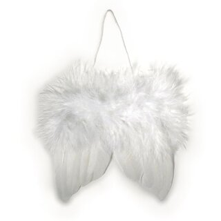Engelflügel aus Federn