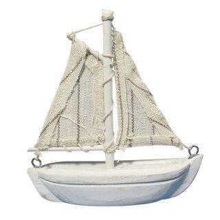 Polyresin-Segelboot, 8,5cm