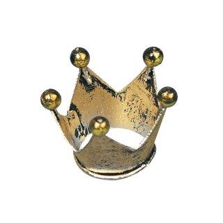 Metall-Krone, 2 cm ø, Höhe 2 cm