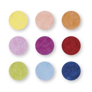 Konfetti, 2cm ø, farbig sortiert, SB-Btl 30g, bunt