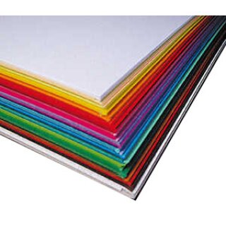Fotokarton, 300g/qm, 50 x 70 cm , 25 Bogen, in 25 Farben sort.