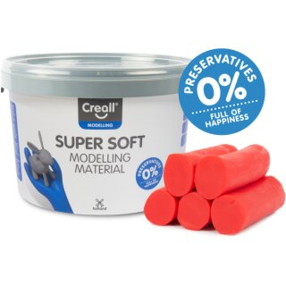 Creall® Knete superweich rot 1750 g