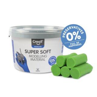 Creall® Knete superweich grün 1750 g