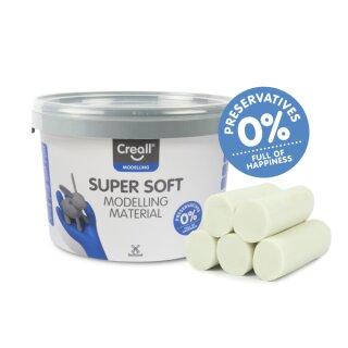 Creall® Knete superweich weiß 1750 g