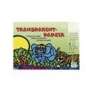 Transparentpapier, 10 Farben, 20x30cm, 42g/m2, Block 10Bogen