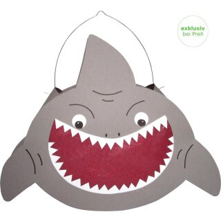 Laternen Bastelset Hai, 1 Stück