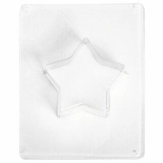 Gießform: Stern, 11cm ø, Tiefe 3,5 cm