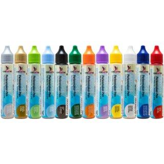 Perlenmaker Pen 12er Set (12 x 30ml Pen) versch. Farben