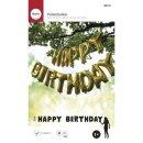 Folienballons HAPPY BIRTHDAY, 40cm, Größe pro...