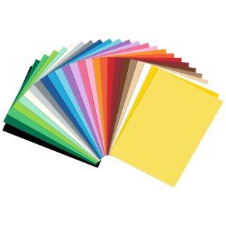 Fotokarton 300 g/qm DIN A4, 50 Blatt in 25 Farben sortiert