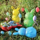 Osternest Sandform Hase 12er-Set von Eduplay