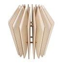 Holz Lamellenlampe Kopenhagen,FSCMixCred, 22x22x23,5cm,...