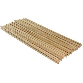 Holzstab, natur aus Buche, 50 Stück, L: 40 cm